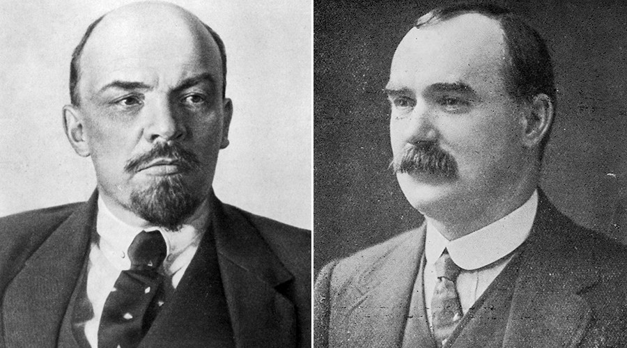 Lenin and Connolly.