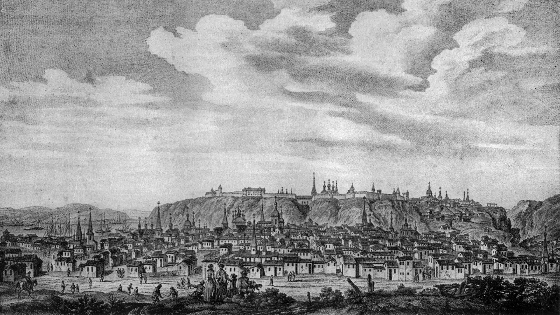 City of Tobolsk. Alfred Nicolas Rambaud, 1898