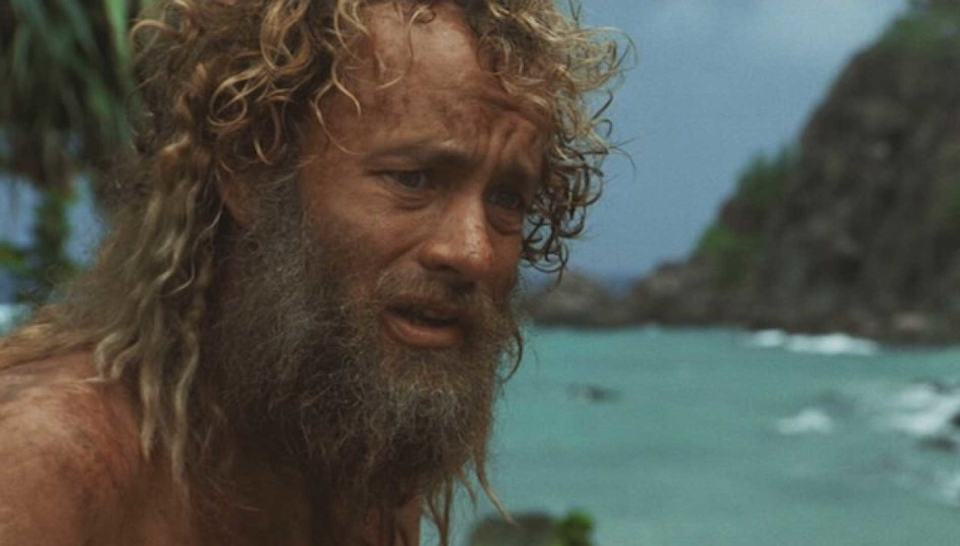 Modern days Robinson Crusoe in 'Cast Away' movie (2000)