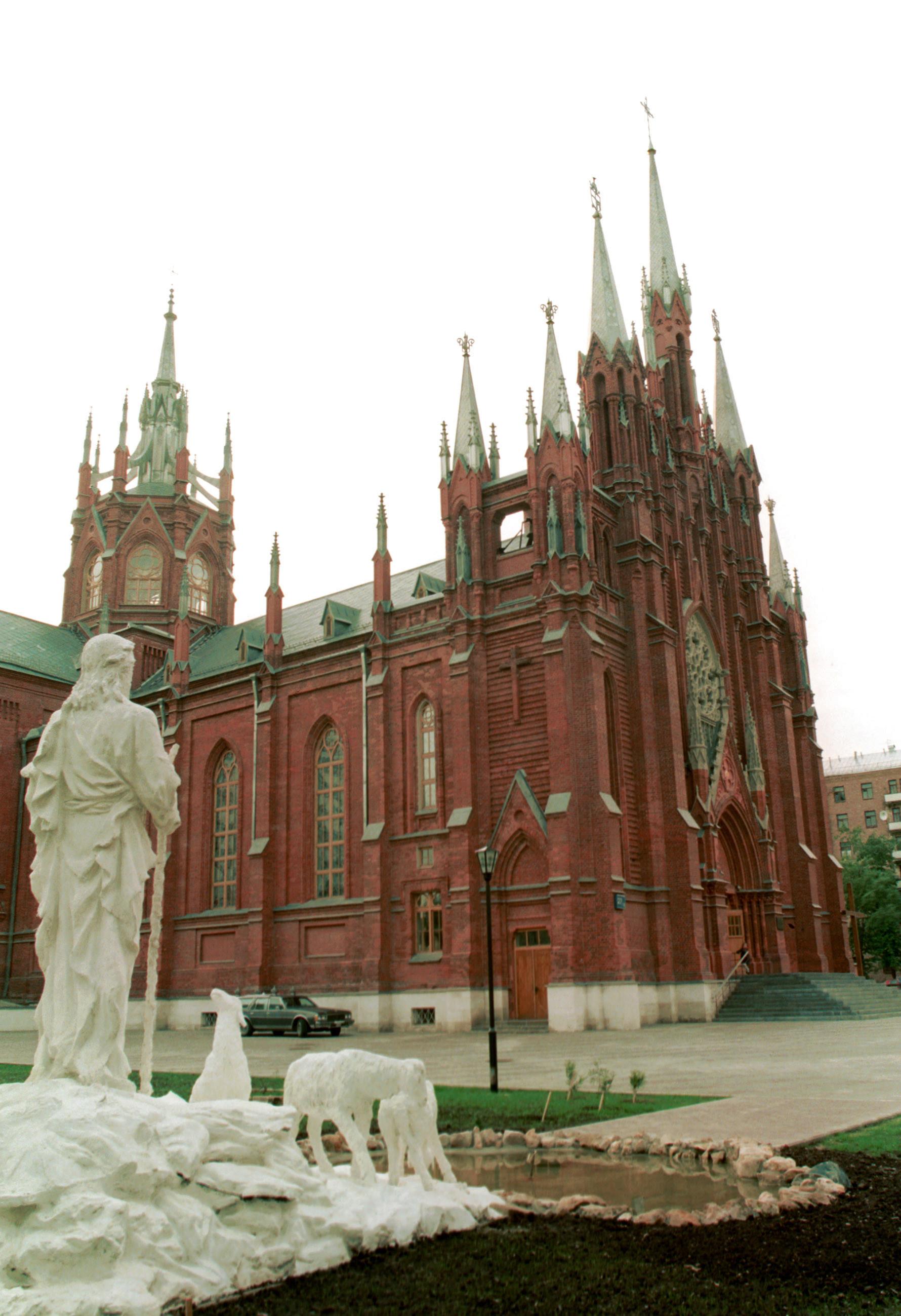 Le Moscou Gothique Dans Toute Sa Splendeur Russia Beyond Fr