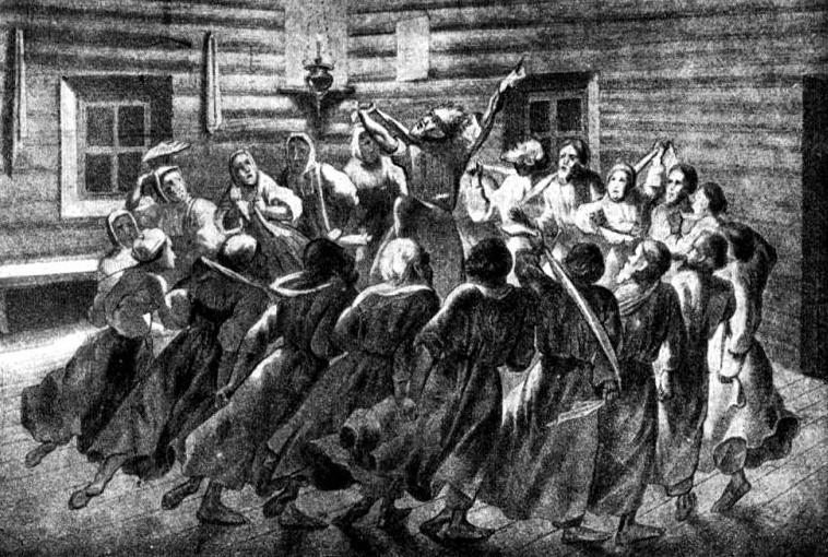 Skopci so prevzeli svoje nazore po bičarjih, a so šli v svojem fanatizmu še korak dlje.