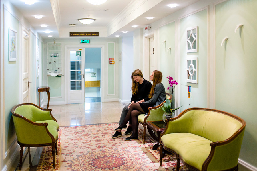 Moscow's Medicina Clinic cooperate with essentially all clinics in Moscow, many across Russia and a certain number of clinics abroad