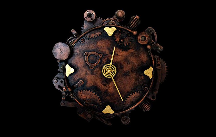 「スチームパンク」時計