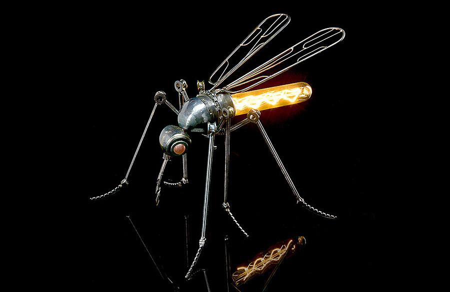 「蚊」ランプ