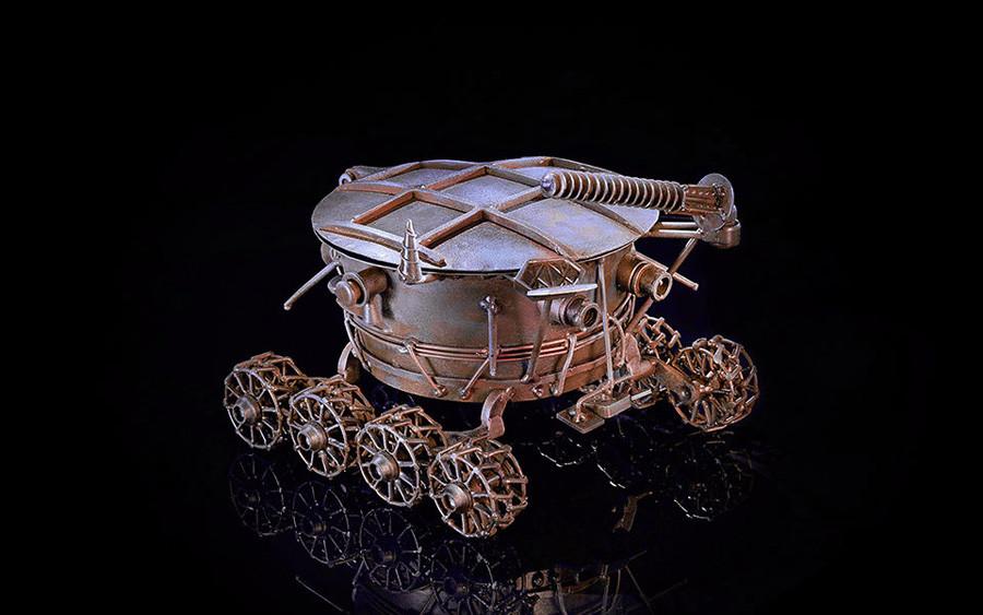 月面車の形をした灰皿
