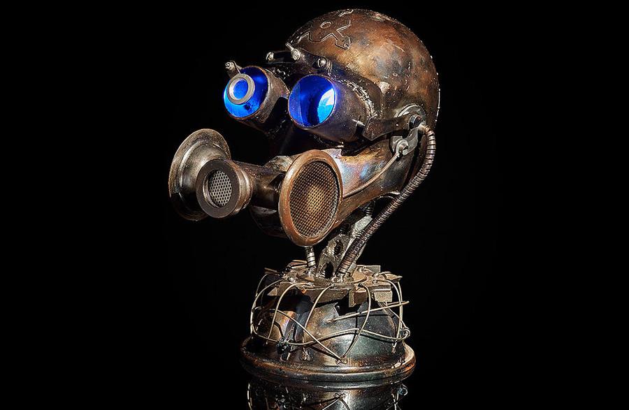 スノークの頭(ゲーム「S.T.A.L.K.E.R.ユニバース」の架空の生き物)のランプ