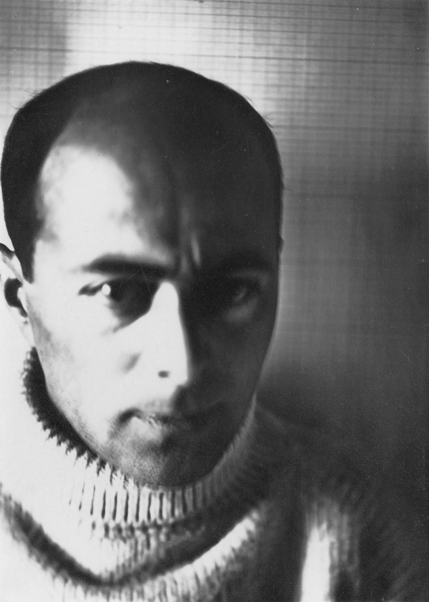 Selbstportrait El Lissitzky, 1924