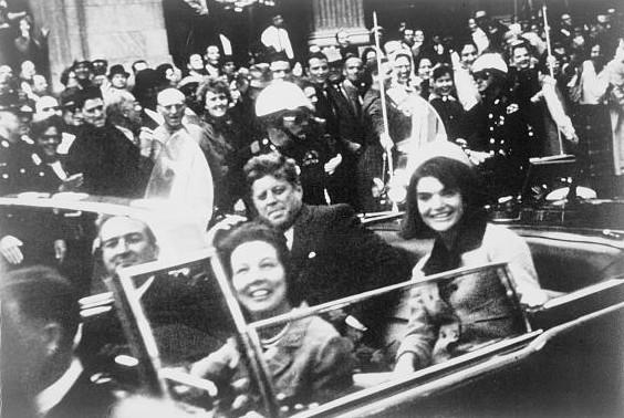 John F. Kennedy in Dallas, Texas. 22. November 1963