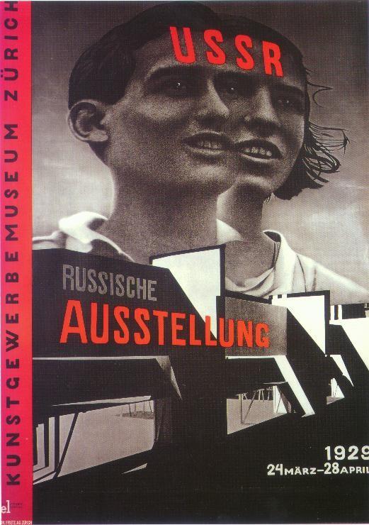 Plakat von El Lissitzky 1930