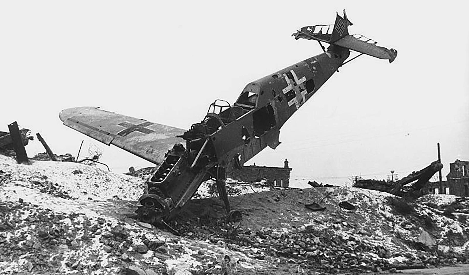 Германците во советската контраофанзива имале големи загуби и кај војниците и кај техниката.