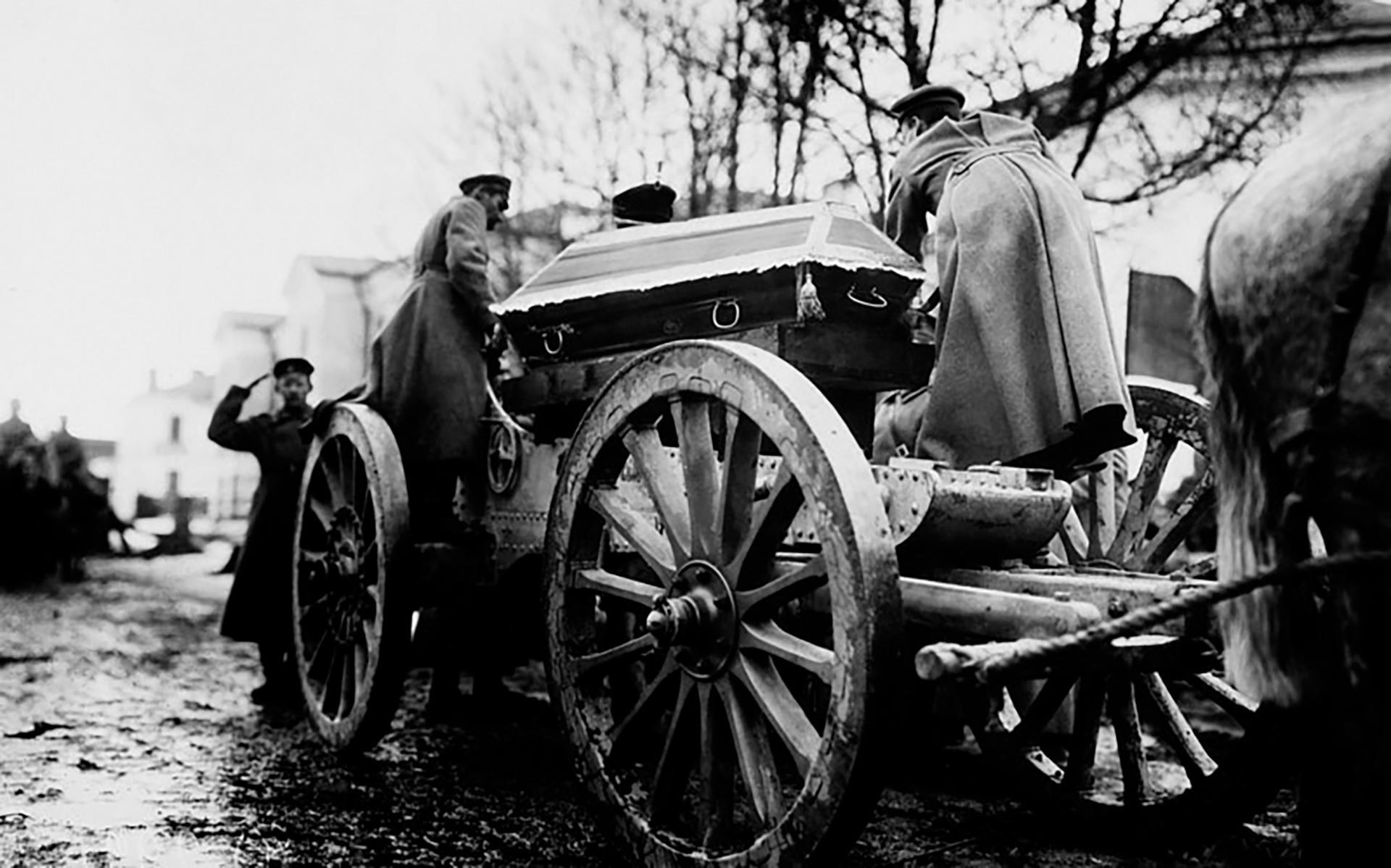 2月革命の犠牲の葬式