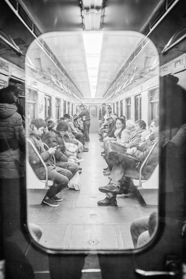 Metro v Moskvi.