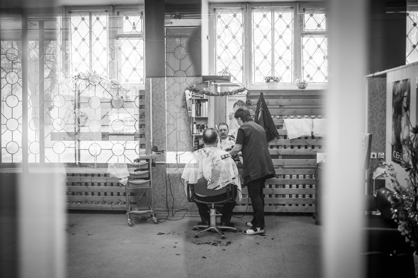 Joškar Ola, pri frizerju.