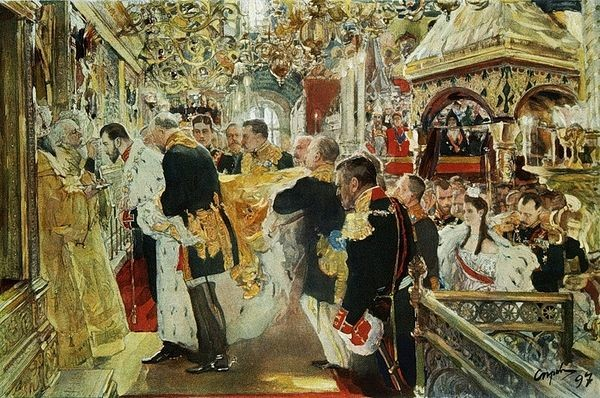 Krunidbe cara Nikolaja II. u Rusiji 1896. godine.