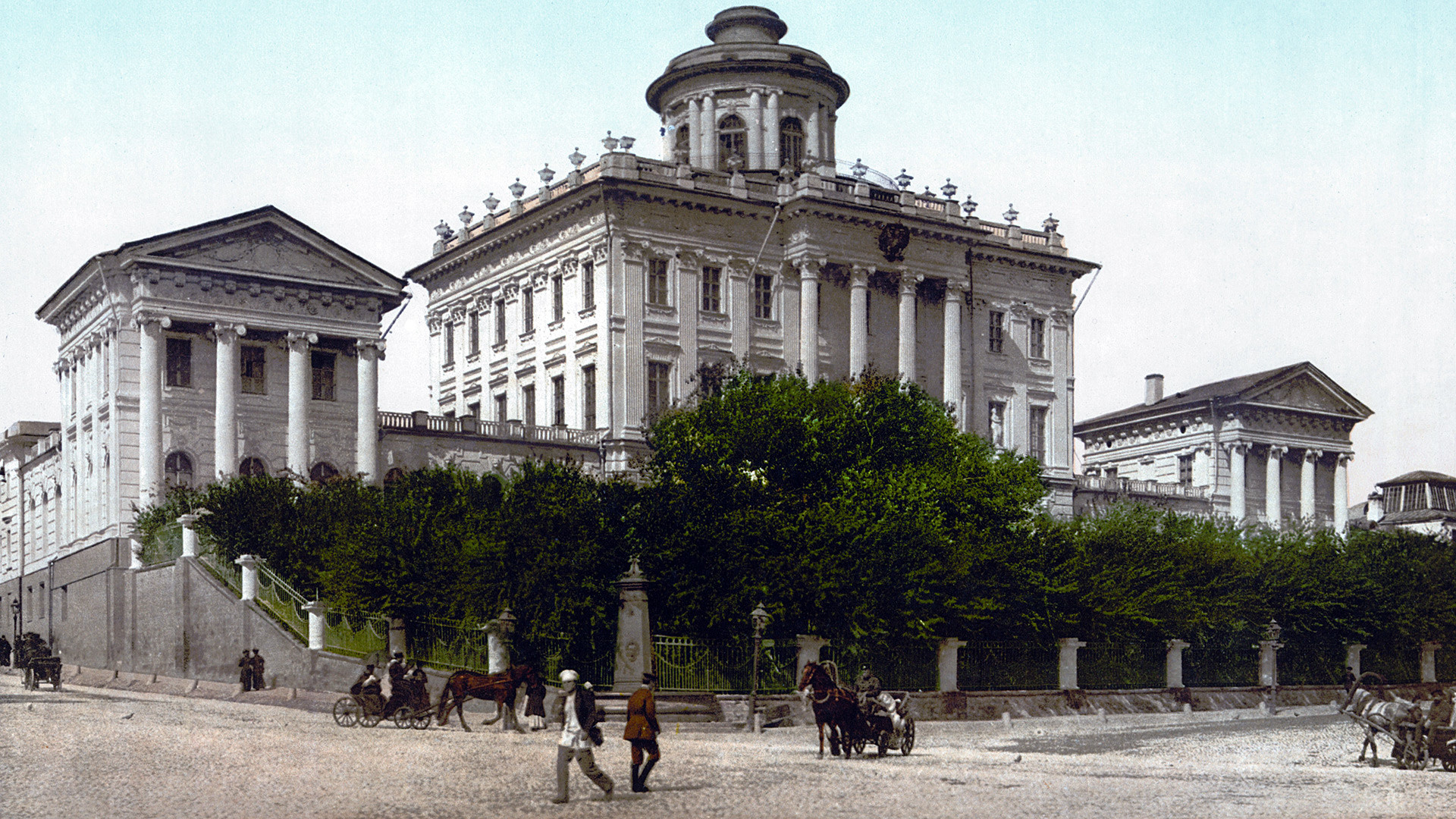 19th-century postcard of Pashkov House