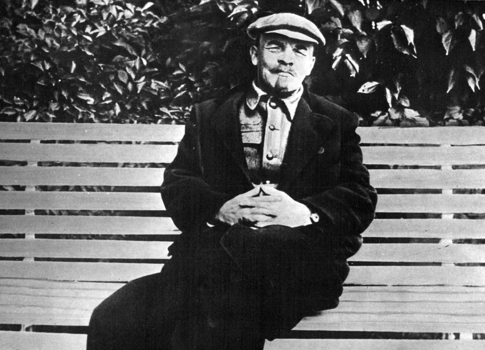 Retrato de Vladimir Lênin em 1922, dois anos antes de sua morte