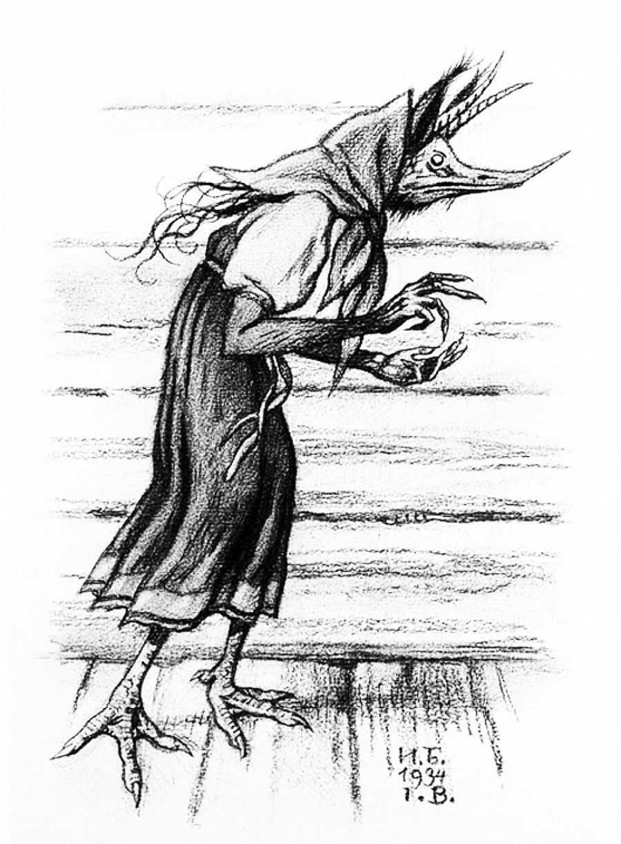 Kikimora karya Ivan Bilibin.