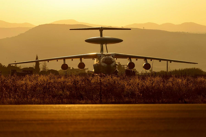 А-50, база Хмејмим