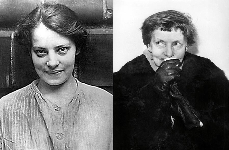 Anna Anderson, que afirmaba ser la Gran Duquesa Anastasia de Rusia.