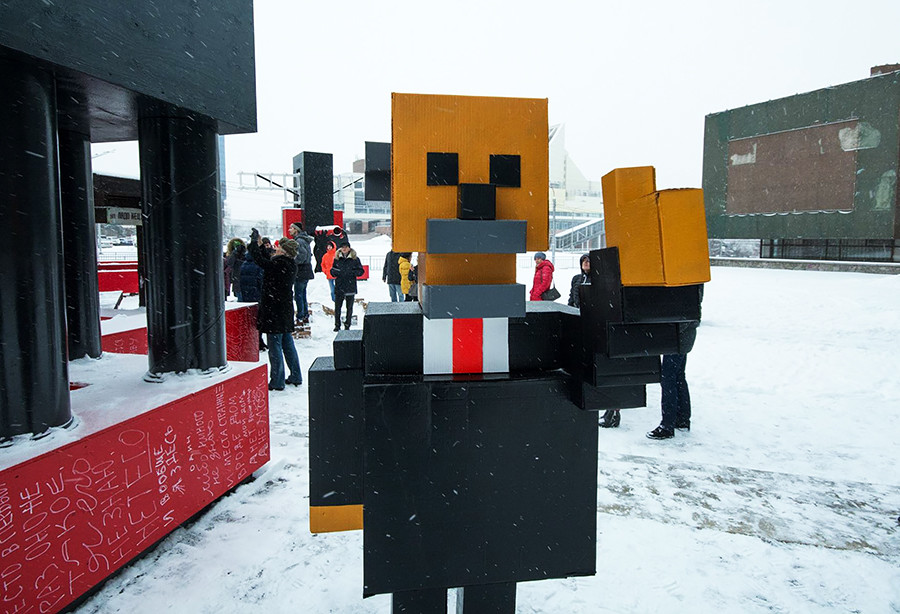 Minecraft Lenin