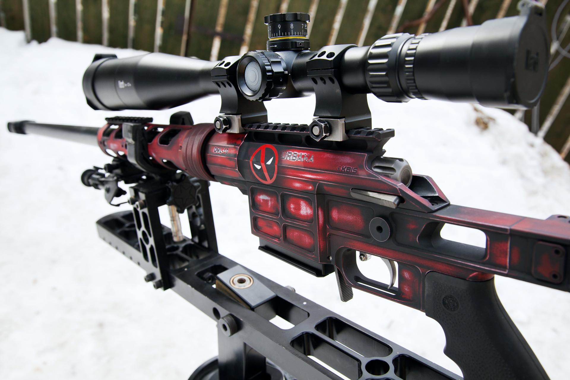 Lahka taktična ostrostrelska puška DVL-10 M2 Urbana.
