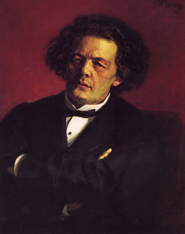Ilja Repin: Anton Rubinstein 1881