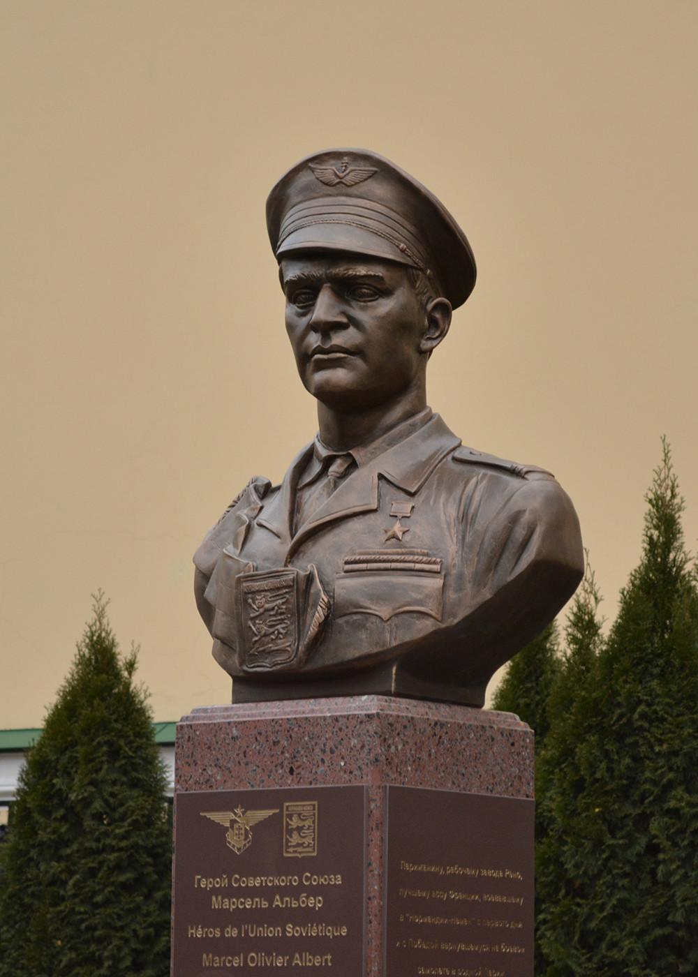 Buste de Marcel Albert