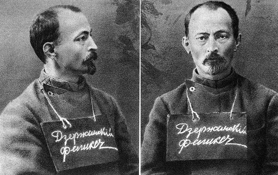 Felix Dzerzhinsky in the Oryol prison, 1914.