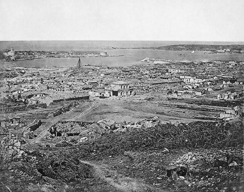 Kriegsschäden in Sewastopol