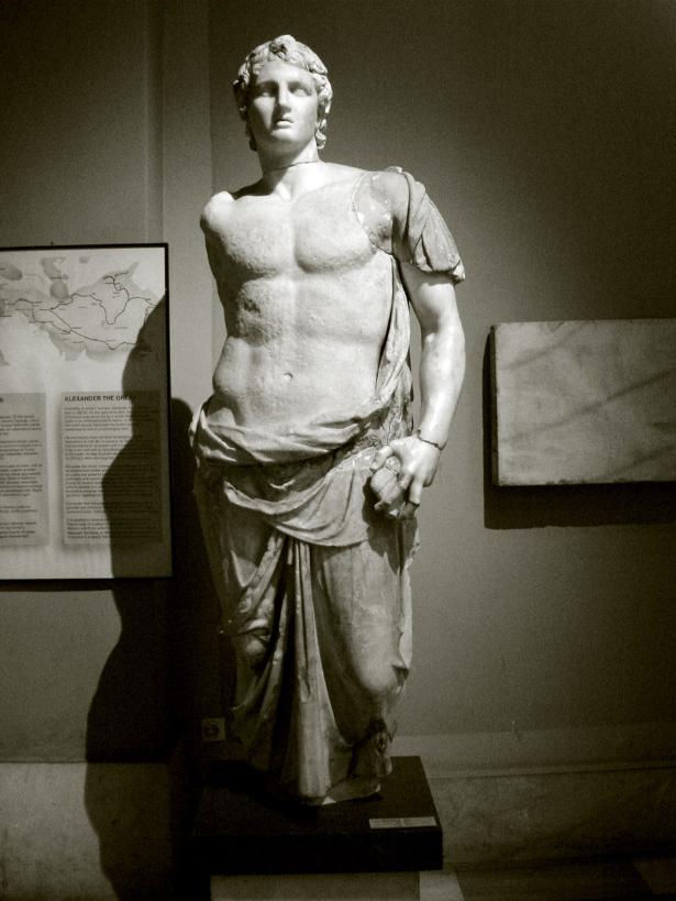 Kip Aleksandra Velikega v istanbulskem arheološkem muzeju.