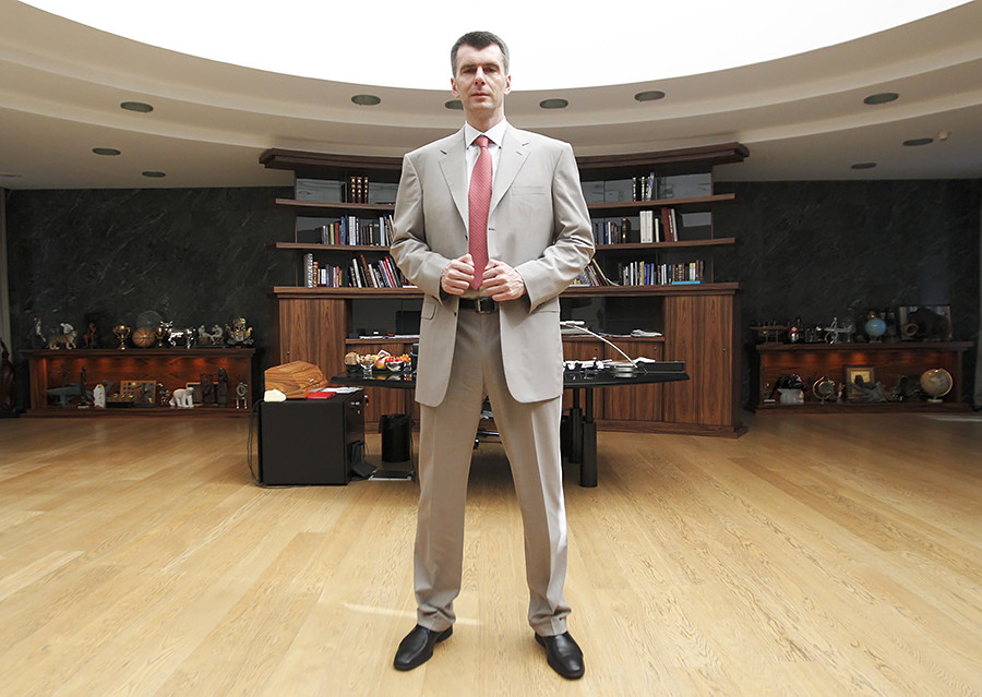 Prokhorov spent four days at police headquarters in Lyon before being released without charge