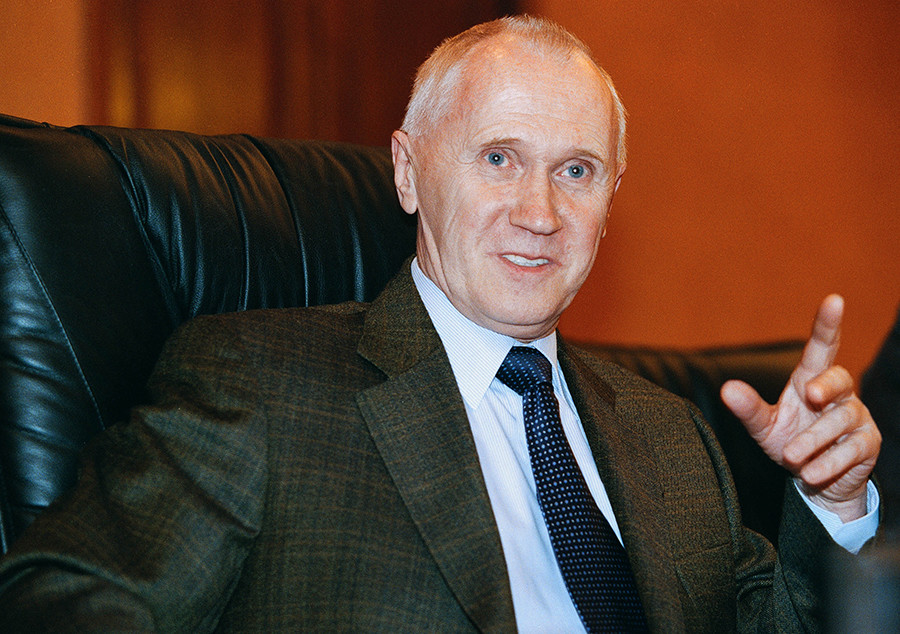 Adamov was the head of the Russian atomic energy ministry from 1998 to 2001
