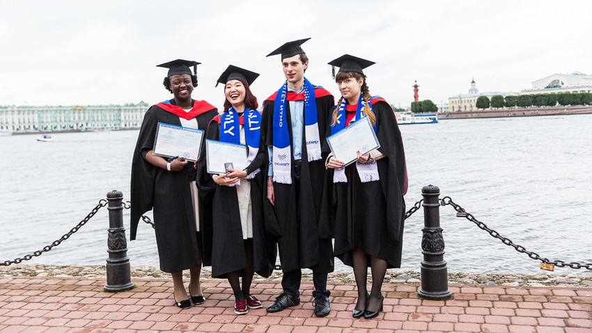 Russian universities have launched the first-ever international competition for prospective Master's students.