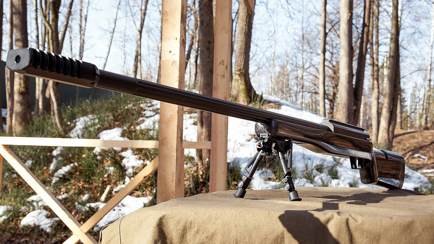The most powerful Russian made sniper rifle SVLK-14S
