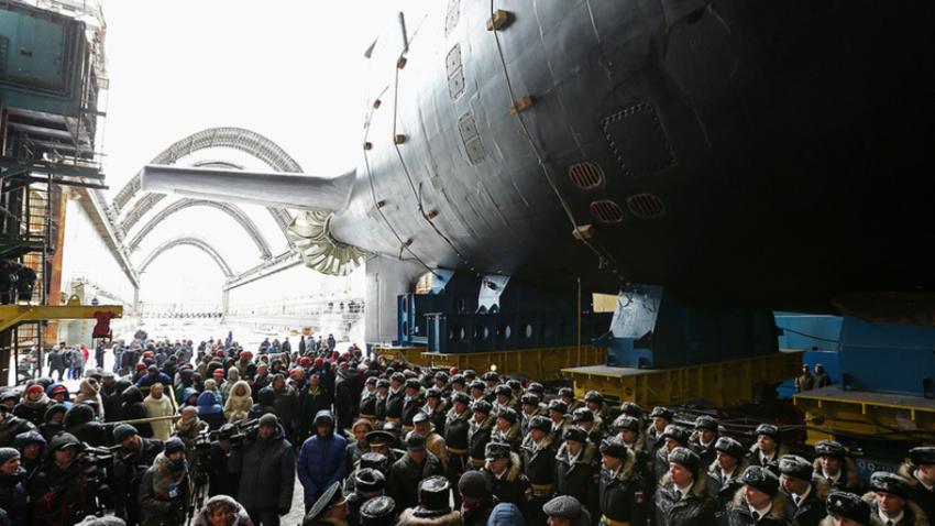 Jedrska podmornica Kazan.