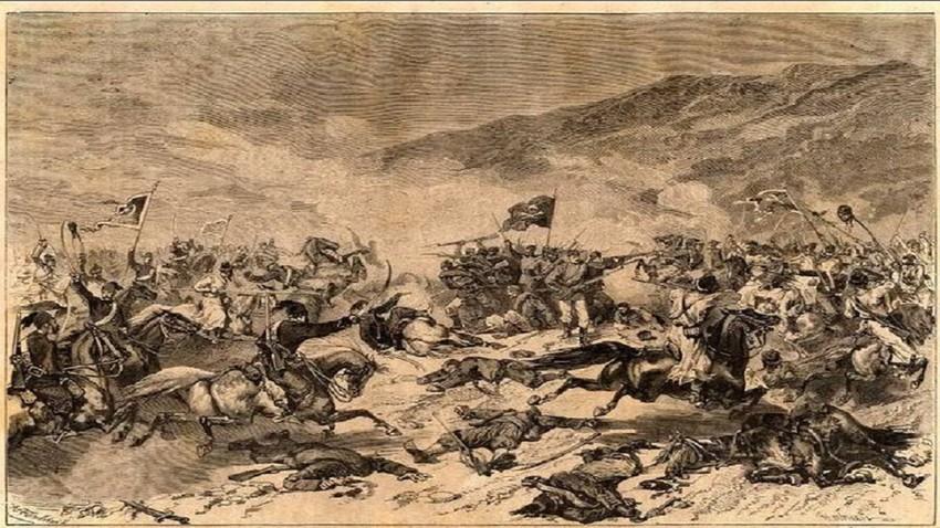 Прву битку на тлу Србије Рајевски је водио за село Моравац