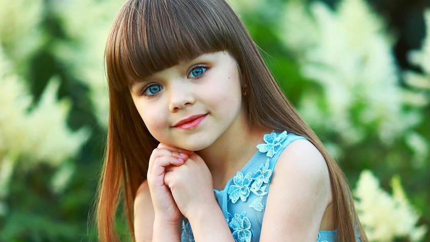 Russian child model, 6, hailed 'the most beautiful girl in ...