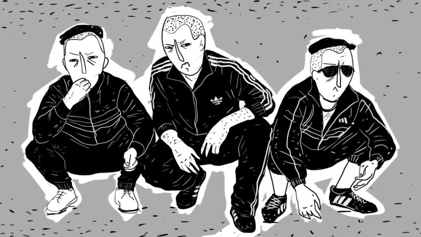 Os chamados 'gópniki', a malandragem ou camada baixa da máfia russa, transformaram os uniformes da Adidas quase em um símbolo nacional.