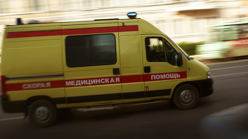 Doctors came to Sweden to take an injured Russian patient
