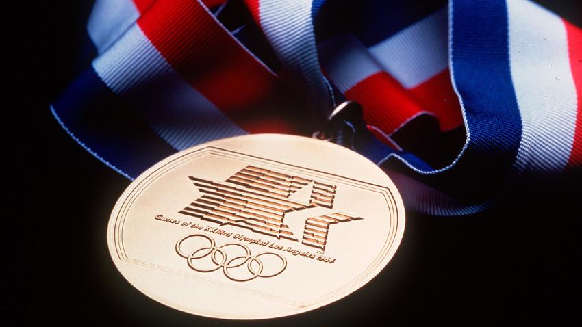 Sovjetski sportaši su se veselili Olimpijadi 1984. u Los Angelesu.