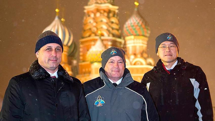 Екипажот на Меѓународнатa вселенска станицa (МВС)