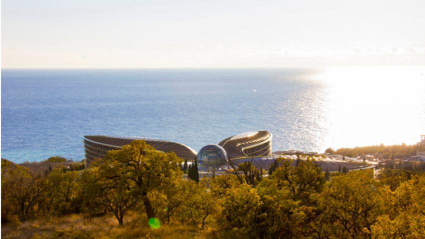 Pogled na Mriya Resort & Spa.