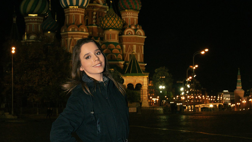 Милица Јоцић у Москви