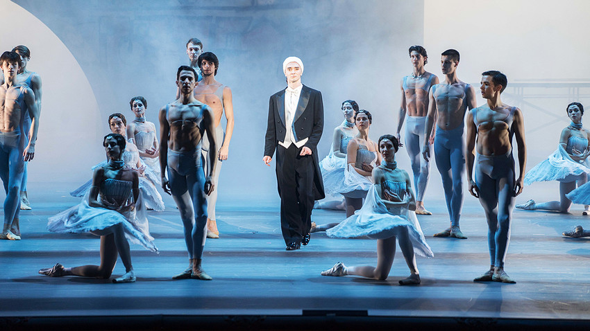 Nureyev ballet premieres in Moscow.