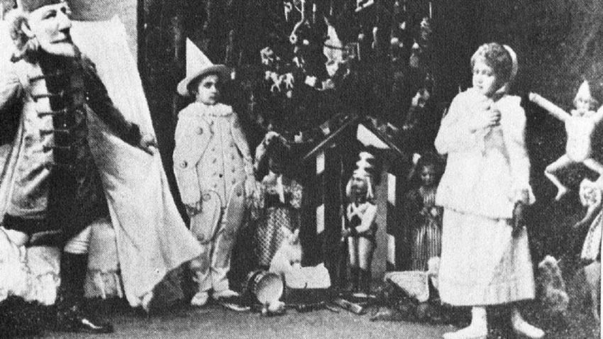 """Imagem da estreia de """"O Quebra-Nozes"""", no Teatro Marínski, em São Petersburgo, em 1892."""