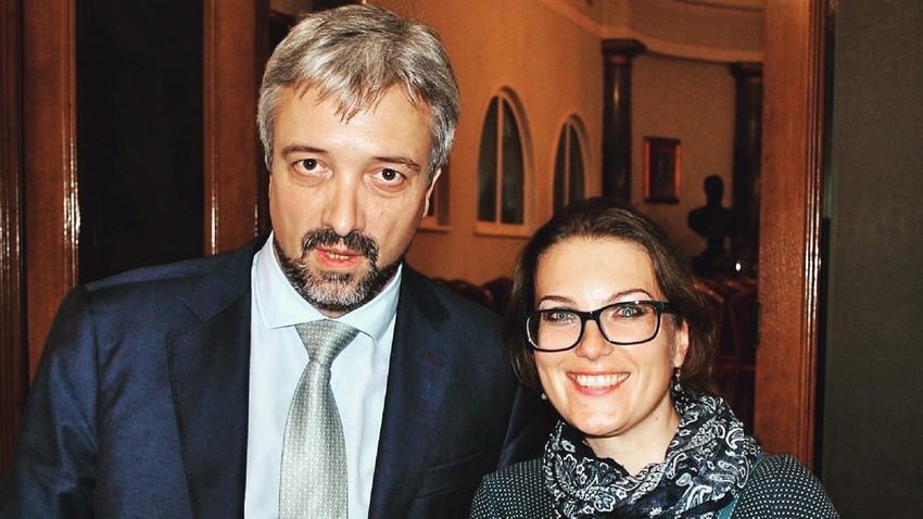 Јевгениј Примаков и Катарина Лане