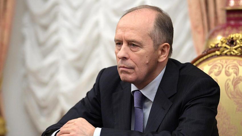 Александар Бортников, шефот на ФСБ на Русија.