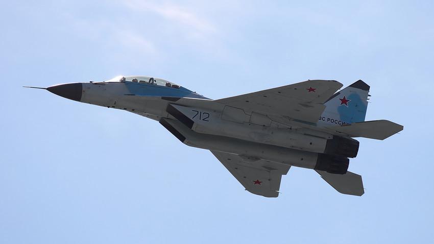 Tak diragukan lagi, penyingkapan terbesar tahun ini adalah jet tempur MiG-35 generasi ke-4++.