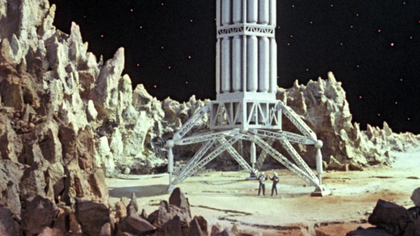 Prizor iz filma Pavla Klušanceva, Pot do zvezd (1957).