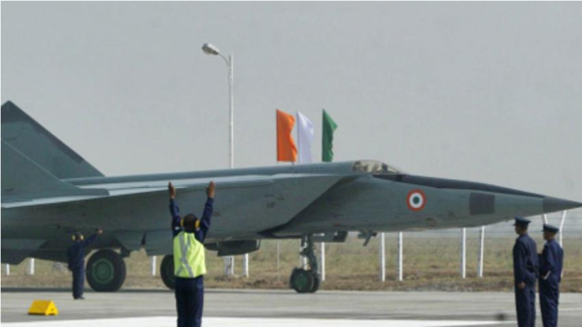 MiG-25 v sestavi indijskih zračnih sil.